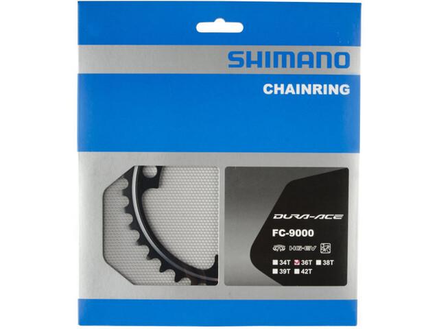 Shimano Dura-Ace FC-9000 Plateau 11 vitesses MB, black
